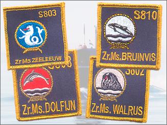 onderzeedienst badget