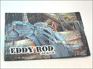 Eddy Rod - kwaliteit geweven label