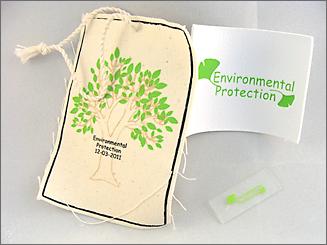 environmental - bedrukte labels