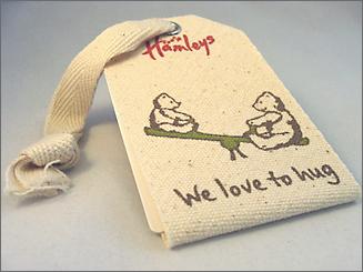 Hamleys- hang tags