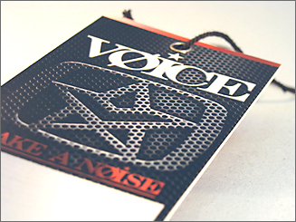 Voice - hang tags