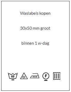 waslabels wit